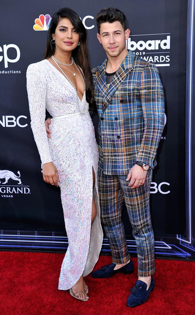 Priyanka Chopra, Nick Jonas, 2019 Billboard Music Awards, Couples, Arrivals