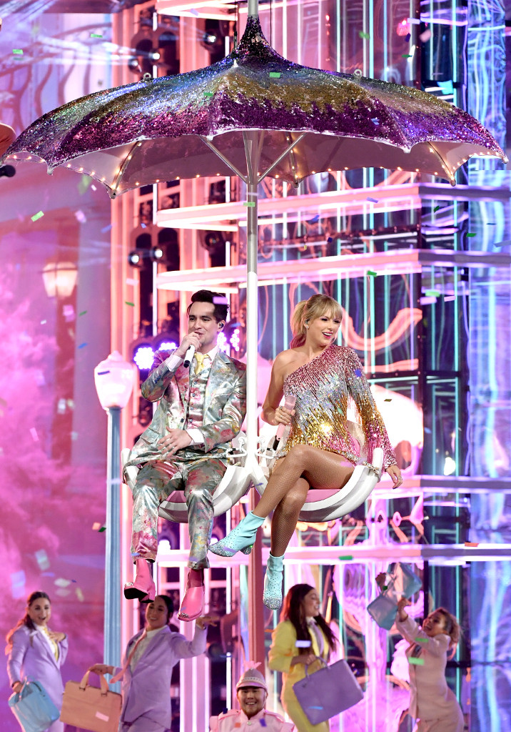 Taylor Swift, Brendon Urie, 2019 Billboard Music Awards Show