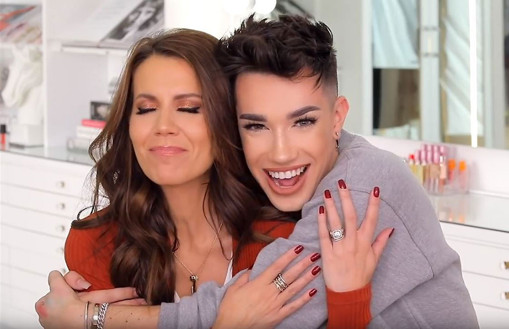 Image result for james charles and tati westbrook