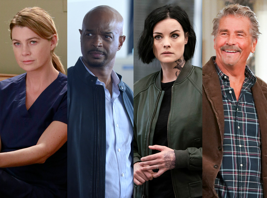 Grey's Anatomy, Lethal Weapon, Blindspot, Life in Pieces