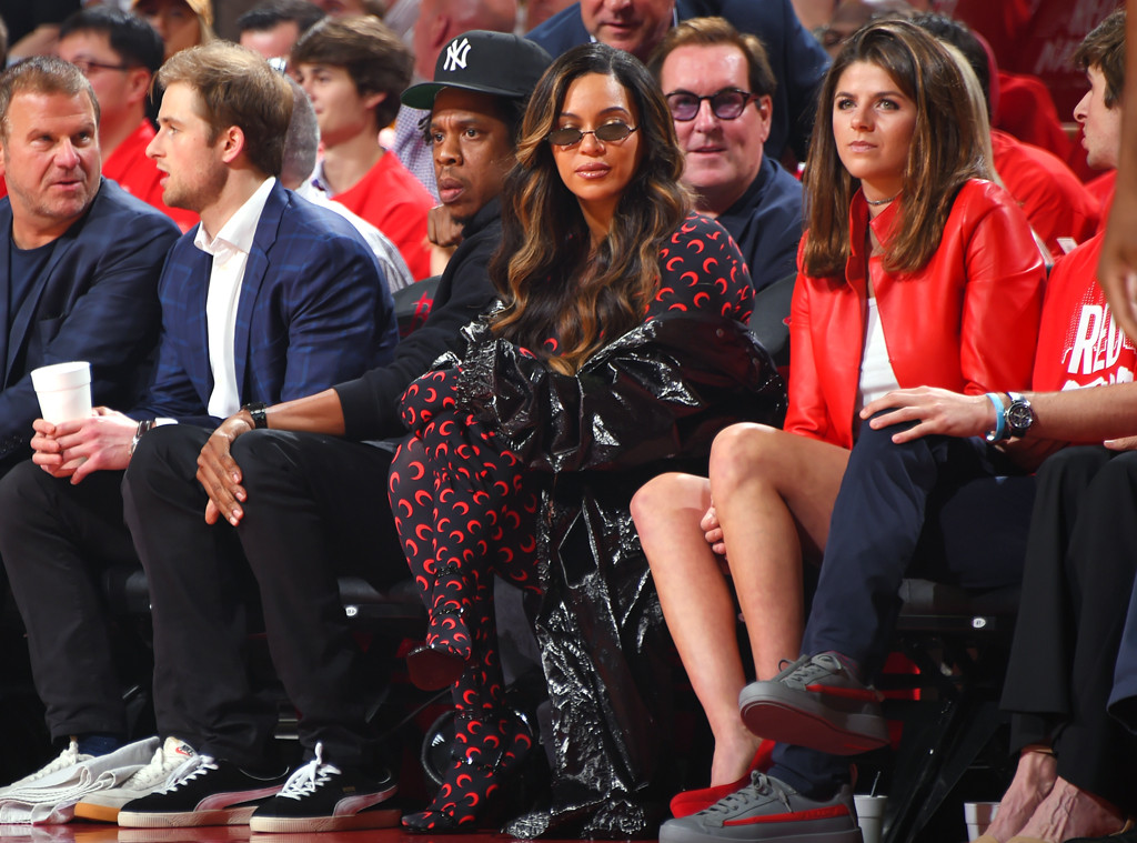 Jay-Z, Beyonce, basketball, Golden State Warriors, Houston Rockets