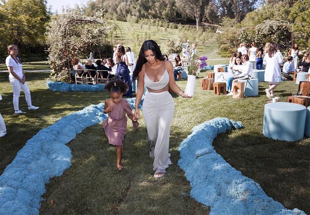 Kim Kardashian, North West, Baby Shower