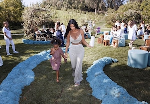 Kim Kardashian, North West, Baby Shower