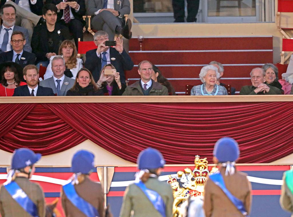 Prince Harry, Duke of Sussex, Queen Elizabeth II, Royal Windsor Horse Show 2019