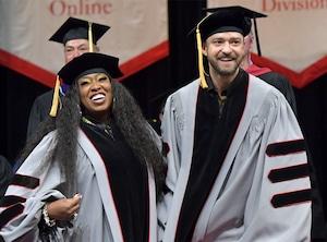 Missy Elliott, Justin Timberlake, Berklee College of Music 2019 Commencement