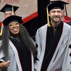 Missy Elliott, Justin Timberlake, Berklee College of Music 2019 Commencement