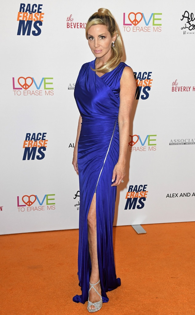 26th Annual Race to Erase MS Gala, Camille Grammer