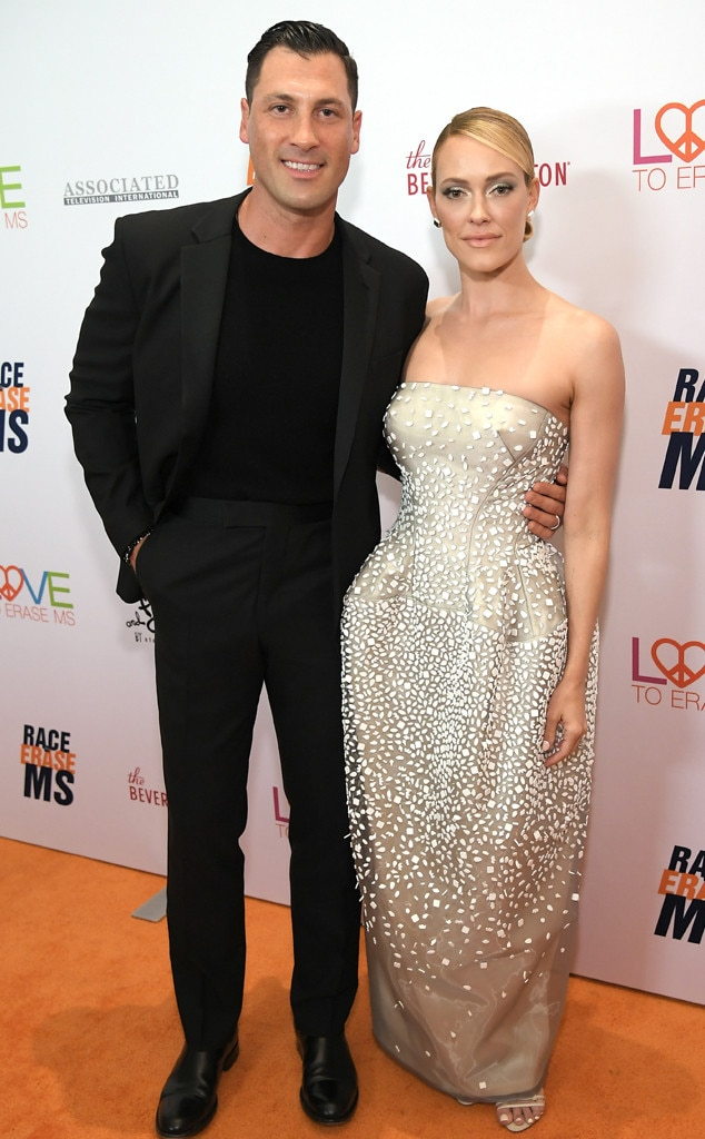 26th Annual Race to Erase MS Gala, Peta Murgatroyd, Maksim Chmerkovskiy