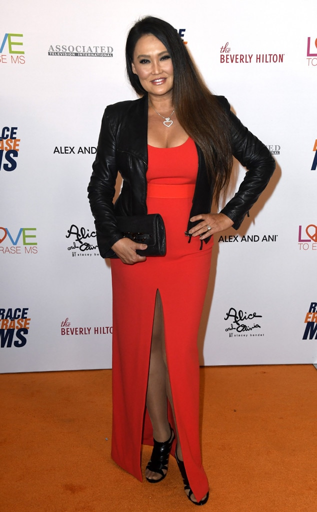 26th Annual Race to Erase MS Gala, Tia Carrere