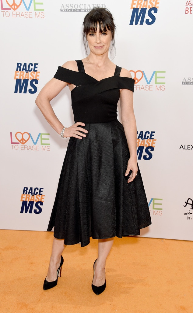 26th Annual Race to Erase MS Gala, Constance Zimmer