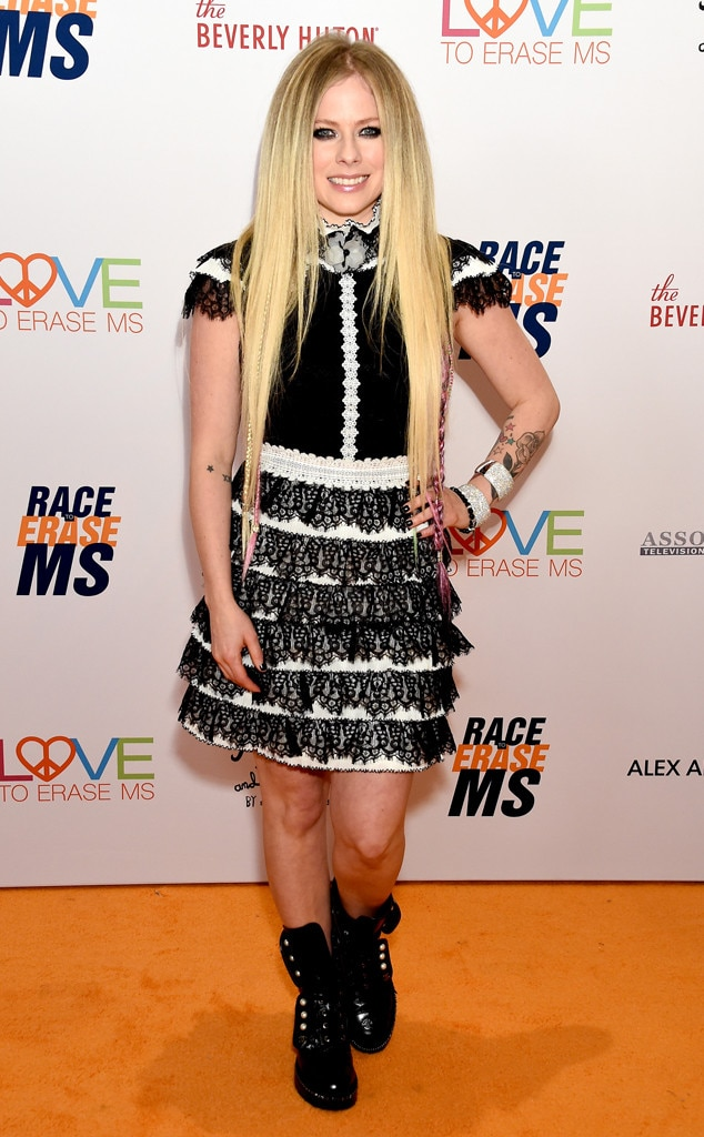 Avril Lavigne, 26th Annual Race to Erase MS Gala