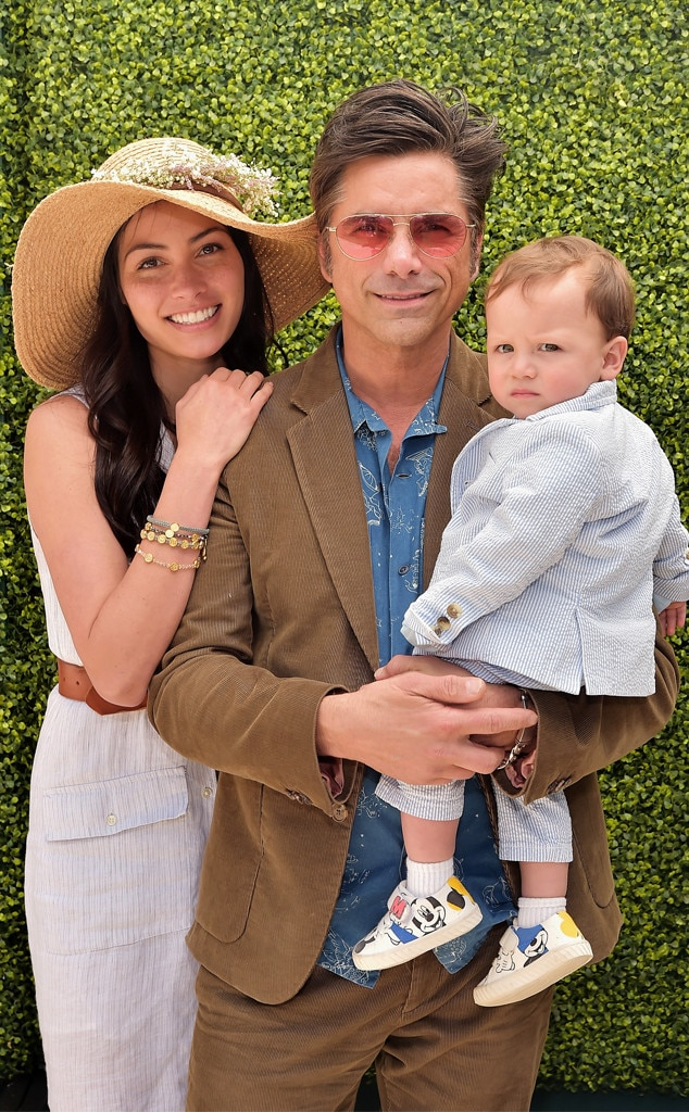 Caitlin McHugh, John Stamos & Billy Stamos -  Family time! The  Fuller House  star joins his wife and son at the Best Buddies Mother's Day Celebration in Malibu, Calif.