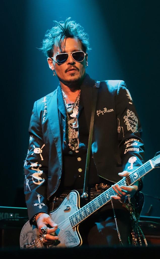 Johnny Depp, Hollywood Vampires