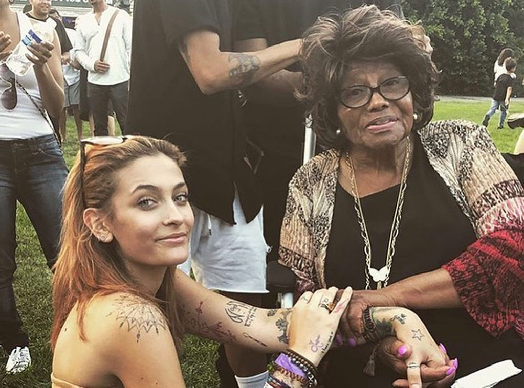 "Paris Jackson -  Paris Jackson commemorates the holiday with her grandmother, Katherine Jackson. Paris calls Katherine  ""the queen""  in her sweet Instagram post."