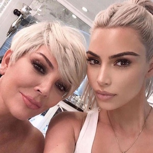 Kim Kardashian, Kris Jenner, Mother's Day