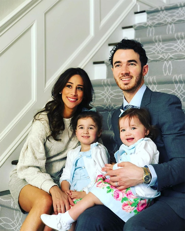 "Kevin Jonas -  The  Jonas Brothers  singer posted this photo of him with wife  Danielle Jonas  and their daughters  Alena Jonas , 5, and  Valentina Jonas , 2,  writing , ""I can't say enough about this incredible woman. You are the most amazing mother and best friend anyone can ask for. You always put yourself second to the needs of others and especially our family. You amaze me every day! I love you @daniellejonas happy Mother's Day!"""