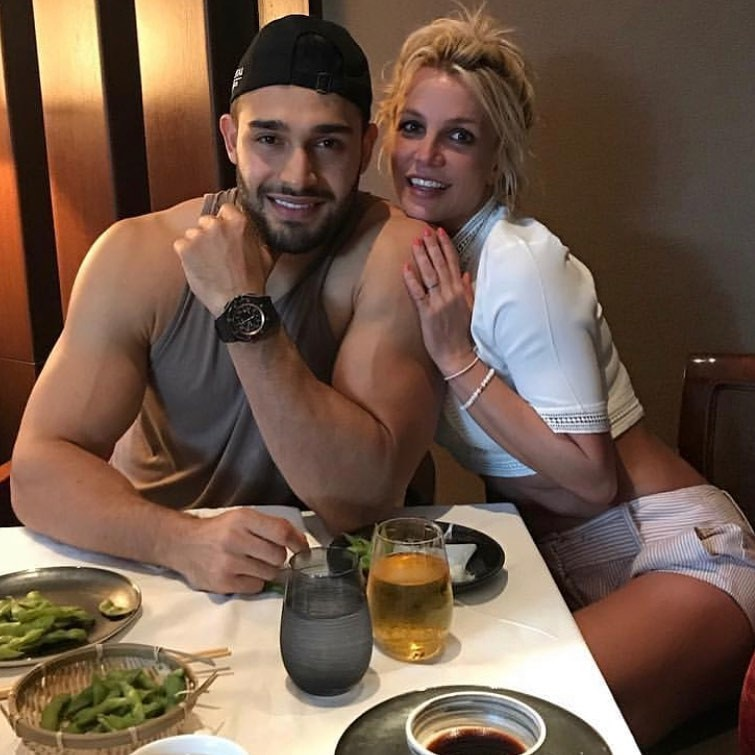 "Britney Spears -  Britney Spears' boyfriend Sam Asghari wishes her a happy Mother's Day amid  her turbulent legal battles . The picture is from a date night a sushi restaurant and he writes on Instagram, ""Happy Mother's Day to all the beautiful mothers out there doing the toughest job in the world!"""