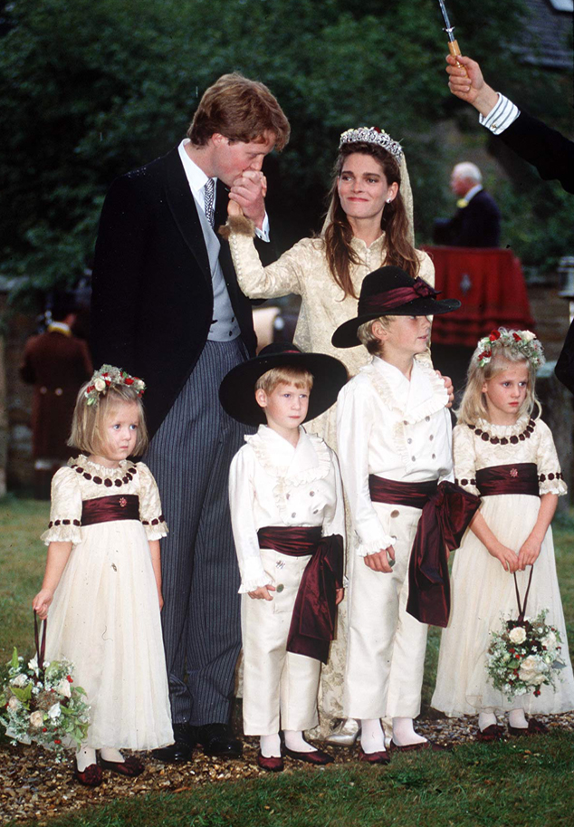 Eleanor Fellowes, Prince Harry, Alexander Fellowes, Emily Mccorquodale, Charles Spencer, Victoria Lockwood