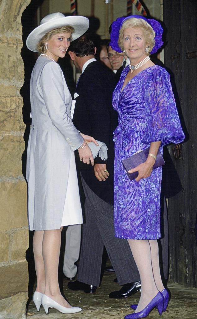 Princess Diana, Mother, Frances Shand-kydd
