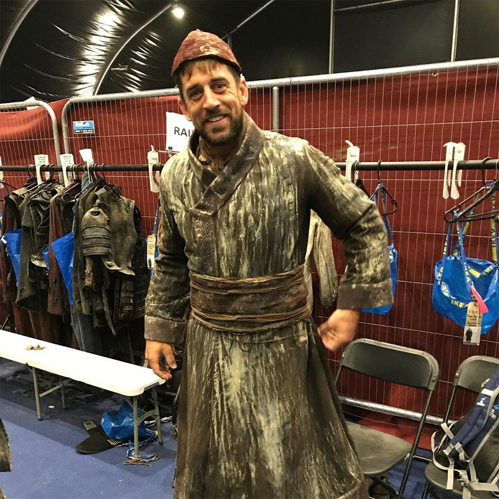 Aaron Rodgers, Game of Thrones