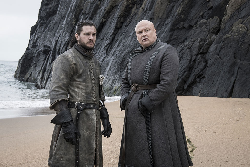 """Kit Harington on Sexism Fears -  Harington was worried that the final season would be accused of sexism, especially because of the way it ended for its two most powerful women.   """"One of my worries with this is we have Cersei and Dany, two leading women, who fall,"""" he  told EW ."""