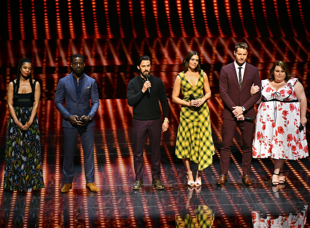 This Is Us  Cast - Susan Kelechi Watson ,  Sterling K. Brown ,  Milo Ventimiglia ,  Mandy Moore ,  Justin Hartley  and  Chrissy Metz  are recognized for their continued success while introducing upcoming NBC Drama  Council of Dads.
