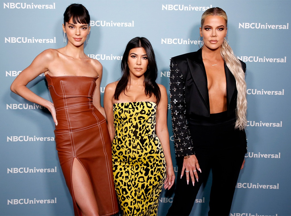 Kendall Jenner, Kourtney Kardashian & Khloe Kardashian -  E!'s very own stars of  Keeping Up With the Kardashians  step out for the annual event.