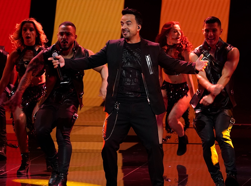 "Luis Fonsi -  The ""Despacito"" crooner represents the Latin music world and Telemundo's  La Voz ."