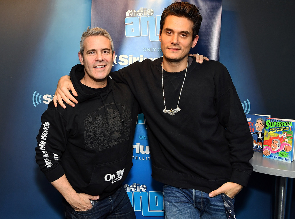 Andy Cohen, John Mayer
