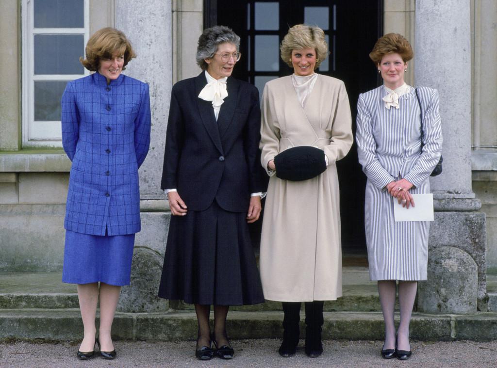 Princess Diana, Lady Jane Fellows, Sarah Mccorquodale, Headmistress Of West Heath School
