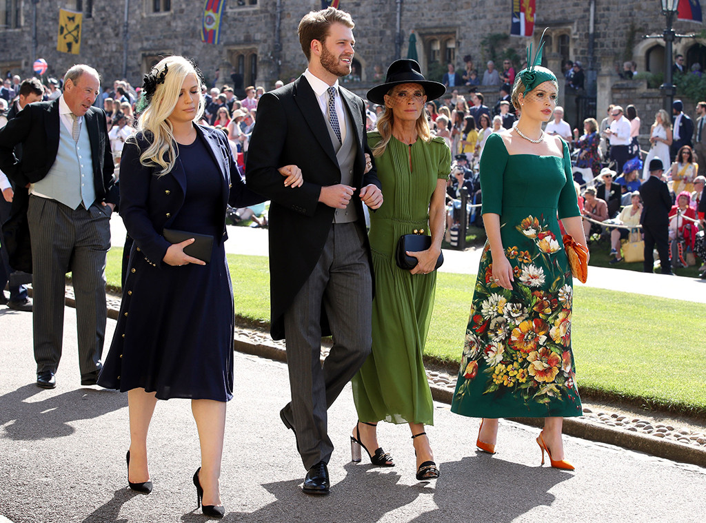 Eliza Spencer, Louis Spencer, Victoria Aitken, Kitty Spencer, Prince Harry and Meghan Markle, Royal Wedding