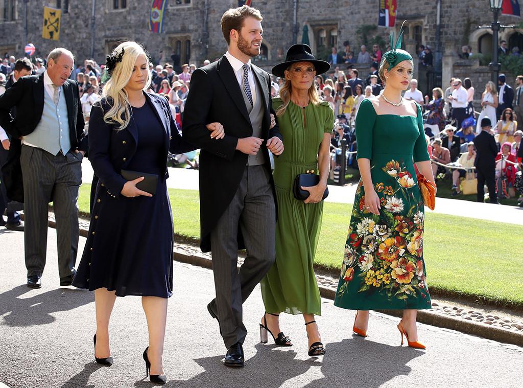 Eliza Spencer, Louis Spencer, Victoria Aitken, Kitty Spencer, Prince Harry and Meghan Markle, Royal Wedding