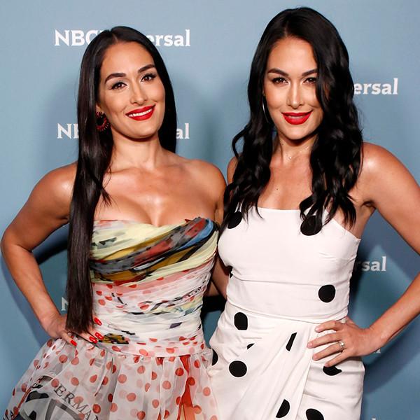 Nikki Bella, Brie Bella, 2019 NBCUniversal Upfront