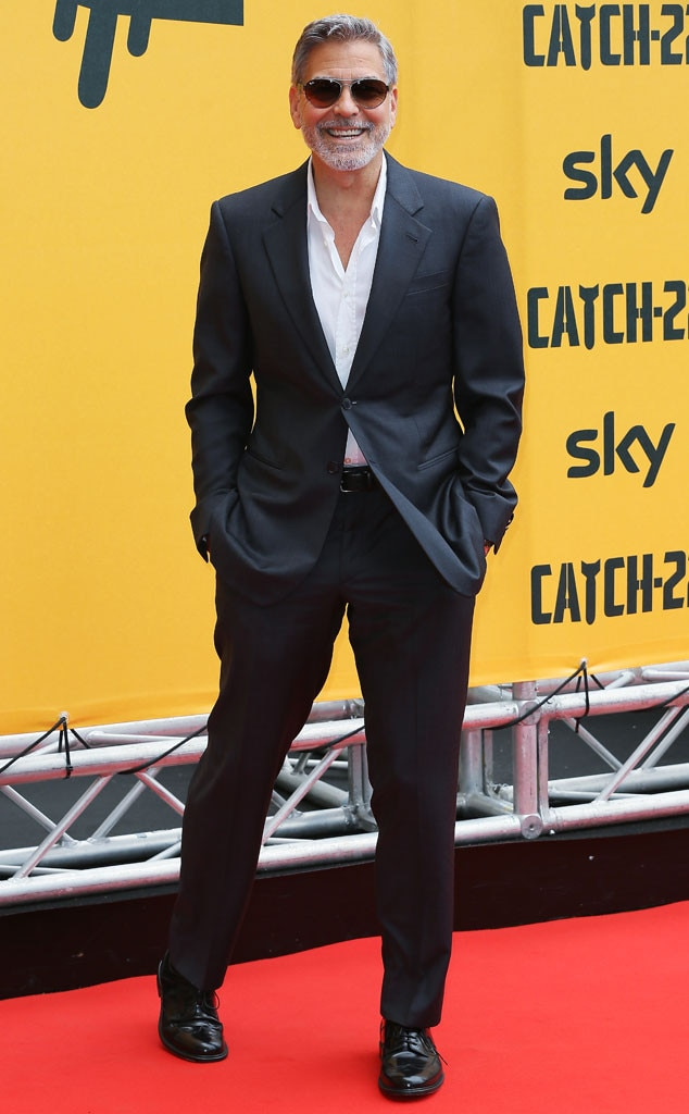 George Clooney, Catch-22 Photo Call