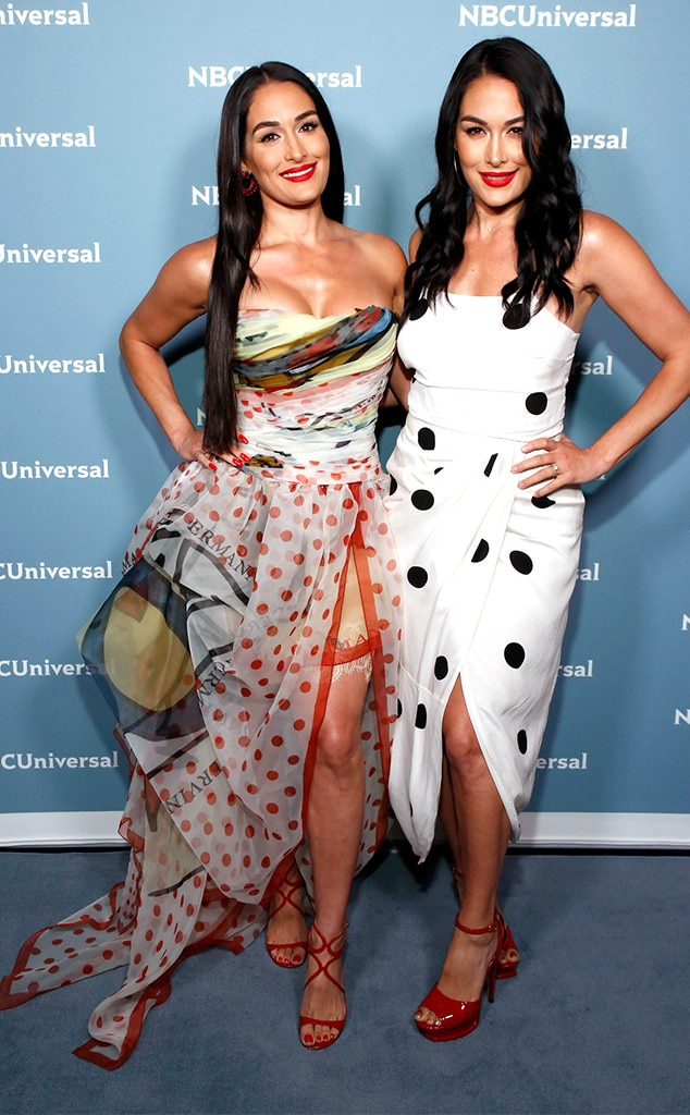 Nikki Bella & Brie Bella -  We're totally loving this appearance from the stars of E!'s  Total Bellas  and  Total Divas .