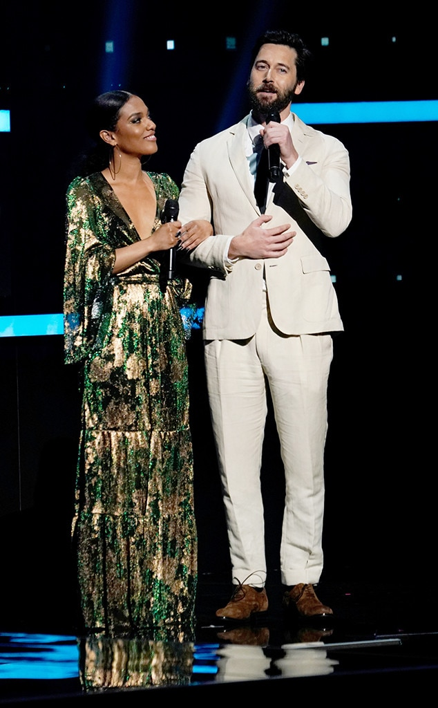 Freema Agyeman & Ryan Eggold -  The stars of NBC's  New Amsterdam  take to the stage to introduce another upcoming network drama,  Zoey's Extraordinary Playlist .