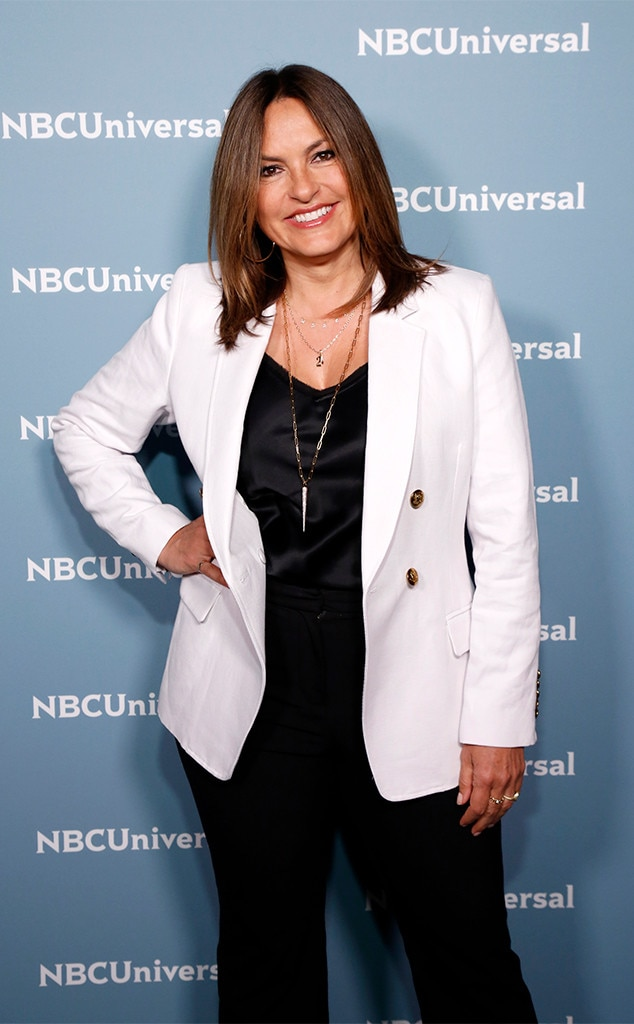 Mariska Hargitay -  The  Law & Order: SVU  star is on hand to celebrate the crime drama's history-making 21st season.