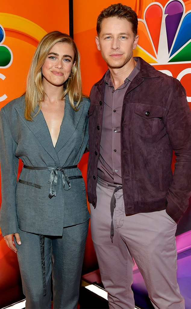 Melissa Roxburgh & Josh Dallas -  The stars of NBC's  Manifest  step out for the big event.
