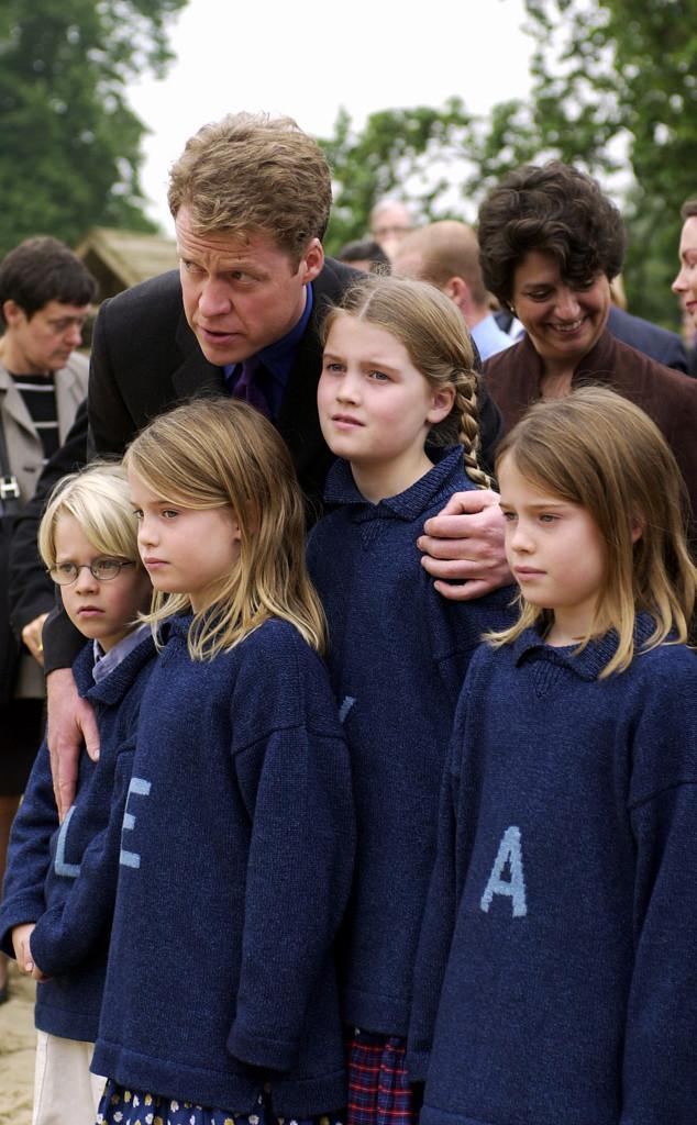 The Earl Charles Spencer, Louis, Eliza, Kitty, Amelia