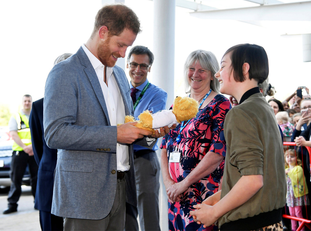 Prince Harry, Oxford Children's Hospital Visit