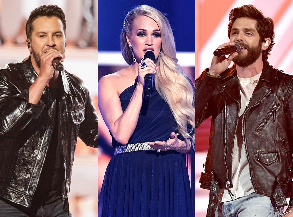Thomas Rhett, Carrie Underwood, Luke Bryan, 2019 CMT Music Awards
