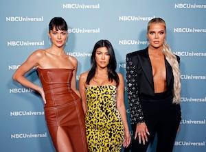 Kendall Jenner, Kourtney Kardashian, Khloe Kardashian, NBCUniversal Upfront