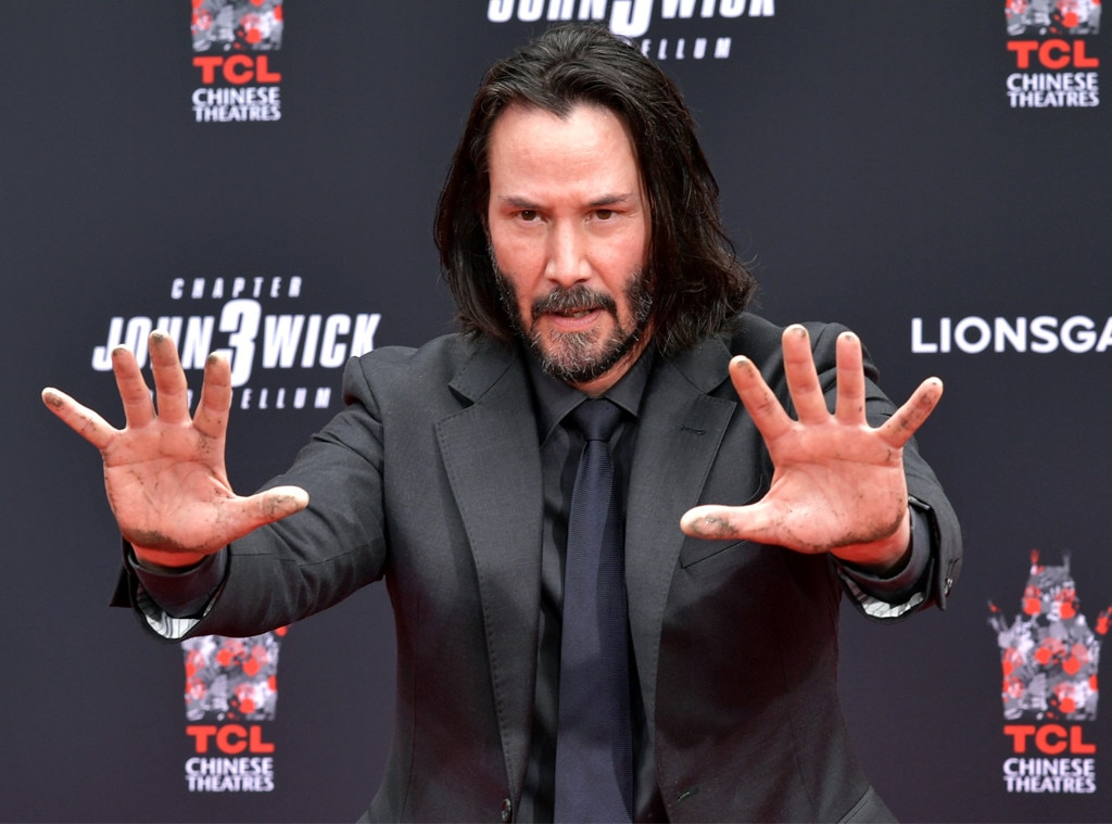 Keanu Reeves, handprint ceremony
