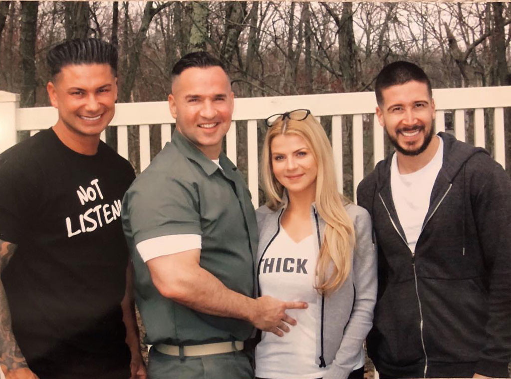 "Pauly D, Mike ""The Situation"" Sorrentino, Lauren Sorrentino, Vinny Guadagnino"