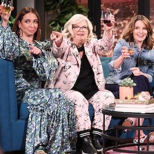 Maya Rudolph, Paula Pell, Tina Fey, Busy Tonight