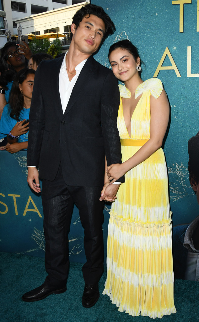 Charles Melton, Camila Mendes, The Sun Is Also A Star Premiere