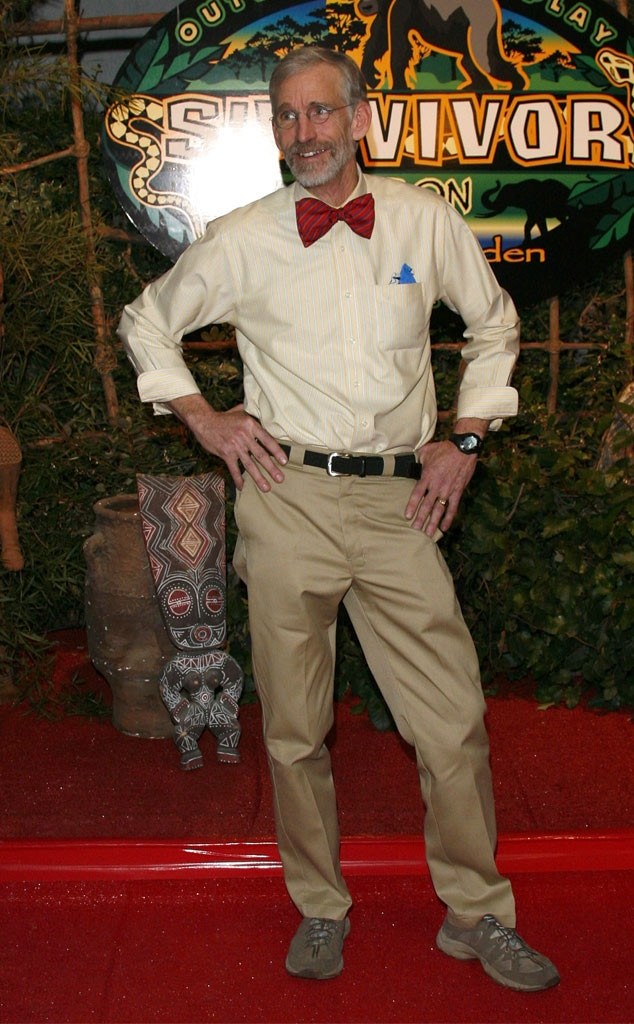 """Bob Crowley -  At 57, Bob (and his signature bow-tie) was the oldest person to win  Survivor , taking home the grand prize in season 17.  Because of his age, the rest of the castaways underestimated the high school teacher, who notched an impressive number of immunity wins. In addition to his $1 million, he also won $100,000 from the """"player of the season"""" poll."""