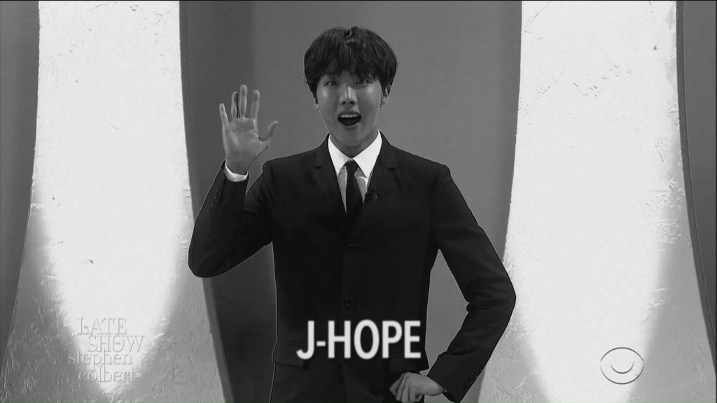 """J-Hope -  Bring your optimism because, """"I'm your hope, you're my hope, I'm J-Hope."""""""