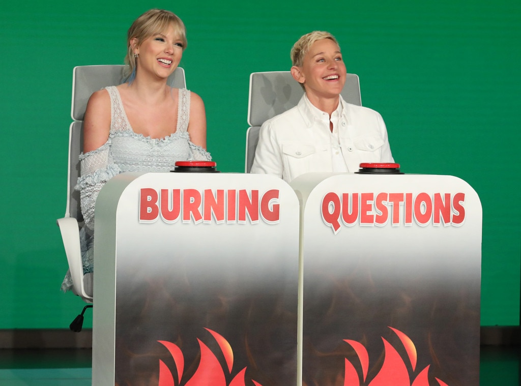 Taylor Swift Talks About Easter Eggs with 'Ellen'