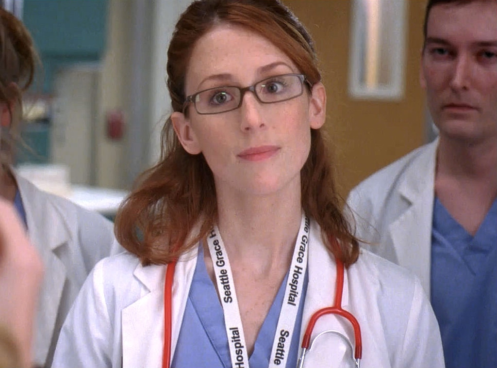 Molly Kidder as Intern Megan -  For all the drama that most  Grey's  interns tend to cause, Megan managed an impressive amount as she got into a primarily web series-based love triangle with Steve and Pierce, as she was dating Pierce, but slept with Steve, and then Pierce wanted to kill Steve, and Megan got pregnant by Steve, and then she later married Steve, and she hasn't been seen since season six after Derek rehired her. Molly Kidder has done a few acting gigs since Grey's, including a guest spot on  Outsourced  in 2010.